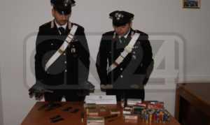 armi-cristodaro-isola-300x179 Crotone: Padre e figlio arrestati per detenzione di armi