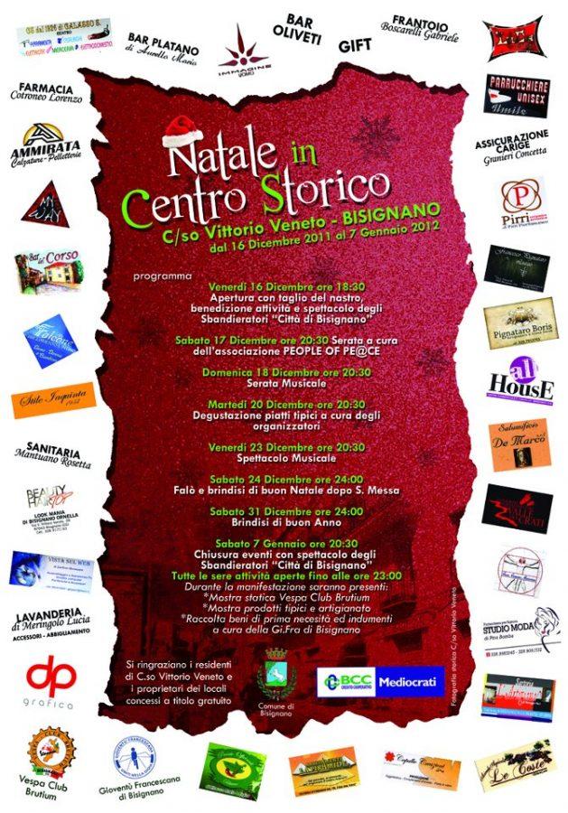 Programma_Nataleincorso2011 Natale in Centro Storico - dal 16 Dicembre al 7 Gennaio