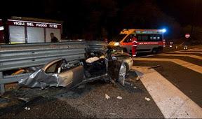 cs-241211 Scontro tra auto a San Giovanni in Fiore. 5 vittime nella notte di Natale