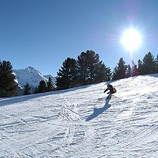 piste-sci Tutti a sciare nel centro di Cosenza