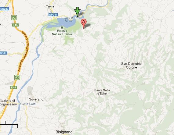 terremoto_lago_tarsia Scossa di terremoto nella notte. Magnitudo 2.7