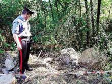 ritrovamento_ossa Acri: Resti umani trovati nel fiume, c'è una pista