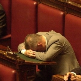 onorevole-dorme Lettera aperta all'Onorevole addormentato