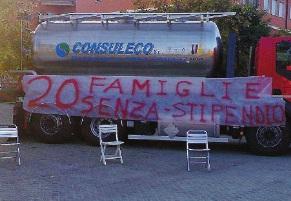 protesta-consuleco-comune Il depuratore sarà affidato ad una società di Verona?