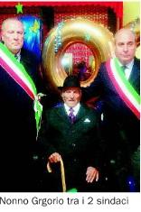 gregorio_nigro Festa grande per i 100 anni di nonno Gregorio