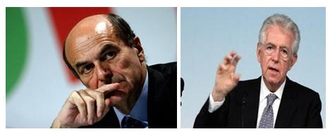 BERSANI-MONTI Perché voterò Bersani e strizzerò un occhio a Monti