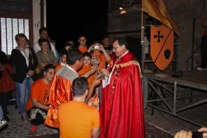 """Palio-di-Santa-Croce Cerimonia d'apertura del """"Palio del Principe"""""""