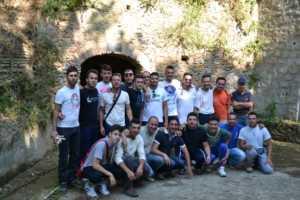DSC_0575-300x200 Giovani volontari ripuliscono il percorso della grotta di Sant'Umile