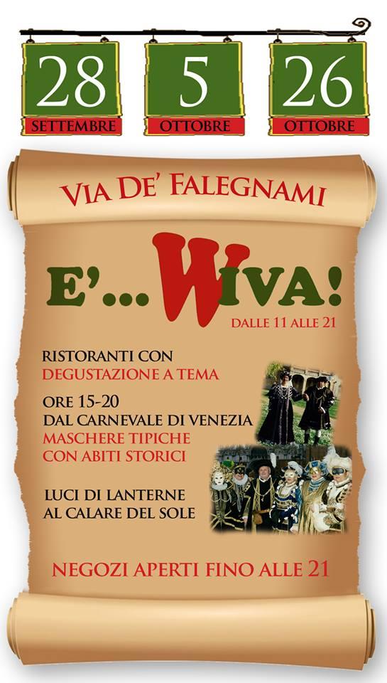 e..wiva_ Sabato 5 ottobre Rossella Regina ospite ad E'…Wiva!