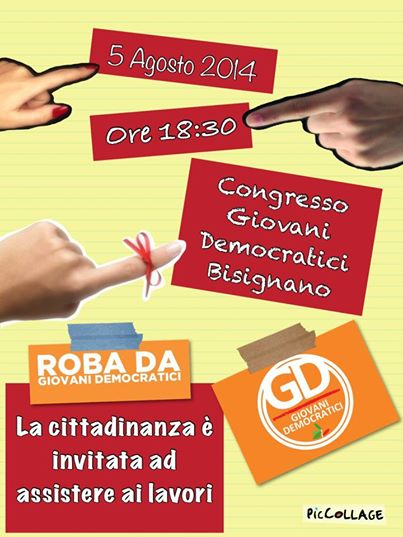 congresso-gd I giovani del Pd al congresso con Aurora Trotta candidata