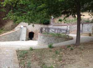 grotta-santumile-300x220 Terminati i lavori di rifacimento della grotta di Sant'Umile