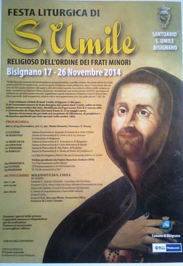 818845 Festa religiosa in onore di Sant'Umile dal 17 al 26 Novembre 2014