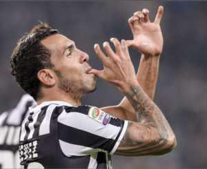 Juventus, la 'trombetta' di Tevez
