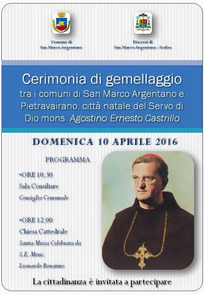 12524164_1687097154888434_smarcin San Marco Argentano e Pietravairano celebrano il gemellaggio