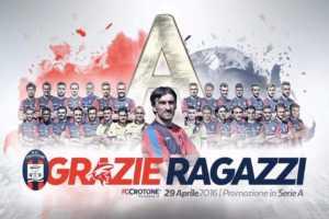 grazie-crotone-300x200 Crotone: SERIE A !!!