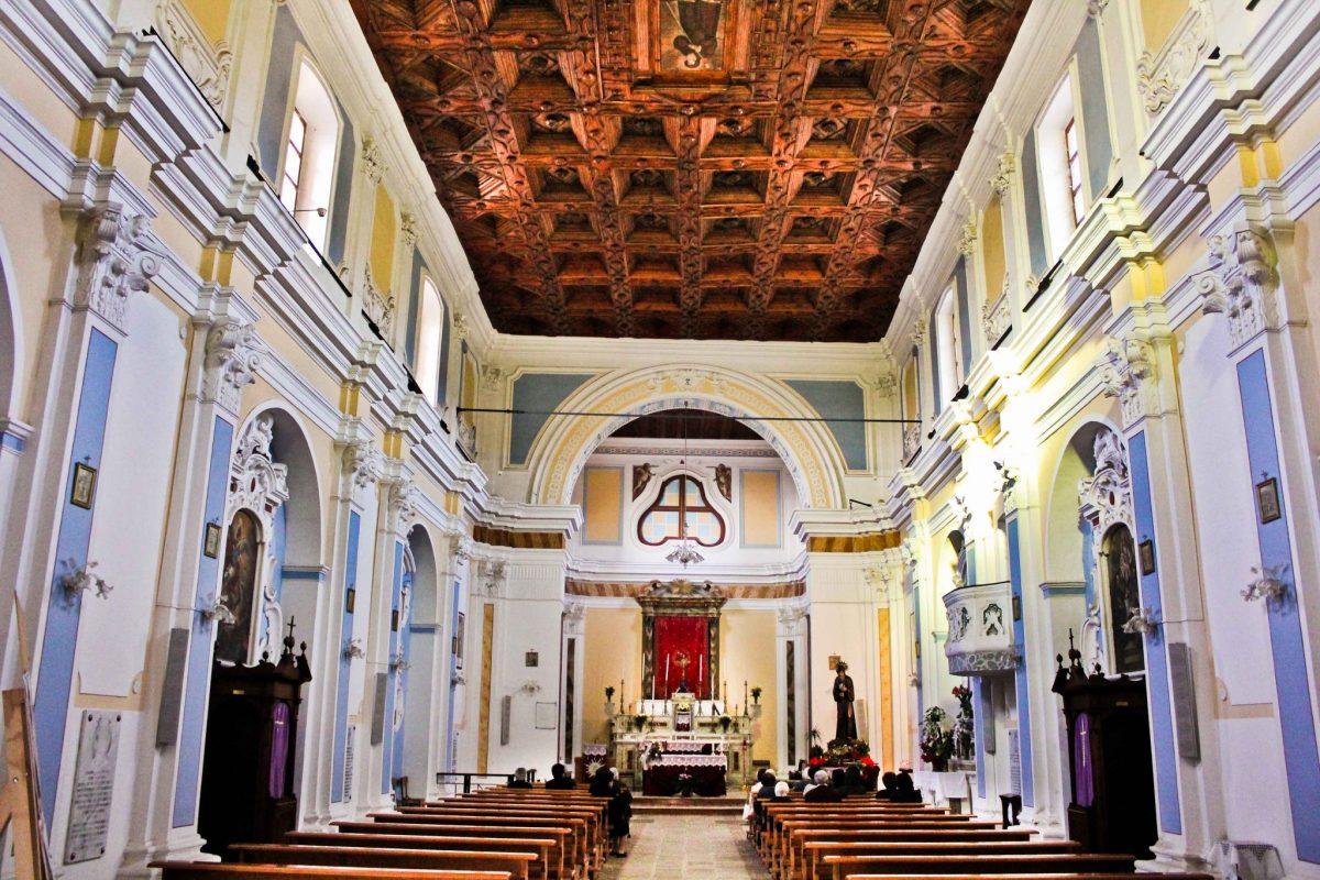 San-Francesco-interno Chiese Aperte 2016 - San Francesco di Paola