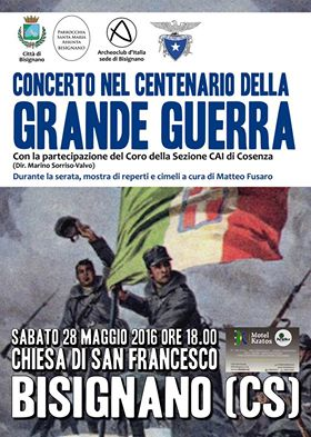 grande-guerra-bisignano-concerto Bisignano e la grande guerra. Un concerto per il ricordo