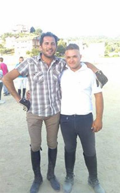 cavaliere-bianco-e-nero-2016-palio Gianluca Nicoletti e Francesco Ferraro sono i cavalieri bianchi
