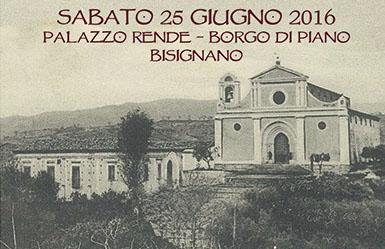 """convegno-25-giugno Convegno storico """"Sviluppo urbano ed edifici di culto nella città di Bisignano"""""""