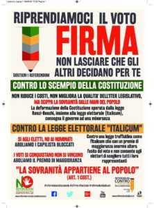 firma-no-222x300 Al viale Roma il Firma day per il no al referendum