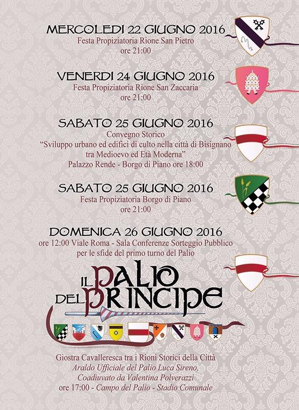 programma_2 Palio del Principe 2016: Il Programma