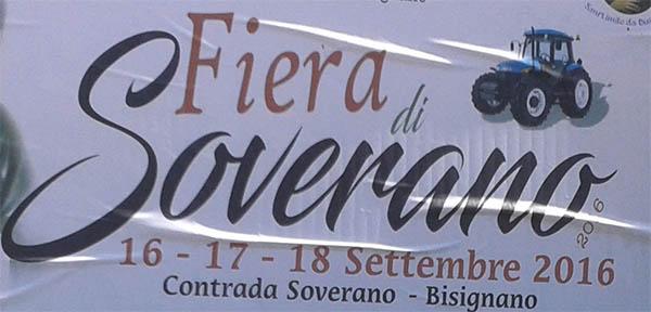 fierasoverano2016 Fiera di Soverano 16-17-18 Settembre 2016