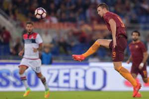 roma-crotone-dzeko-300x200 Roma-Crotone 4-0: troppo forte la Serie A