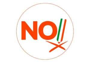 no-300x212 No al referendum: ecco i perché