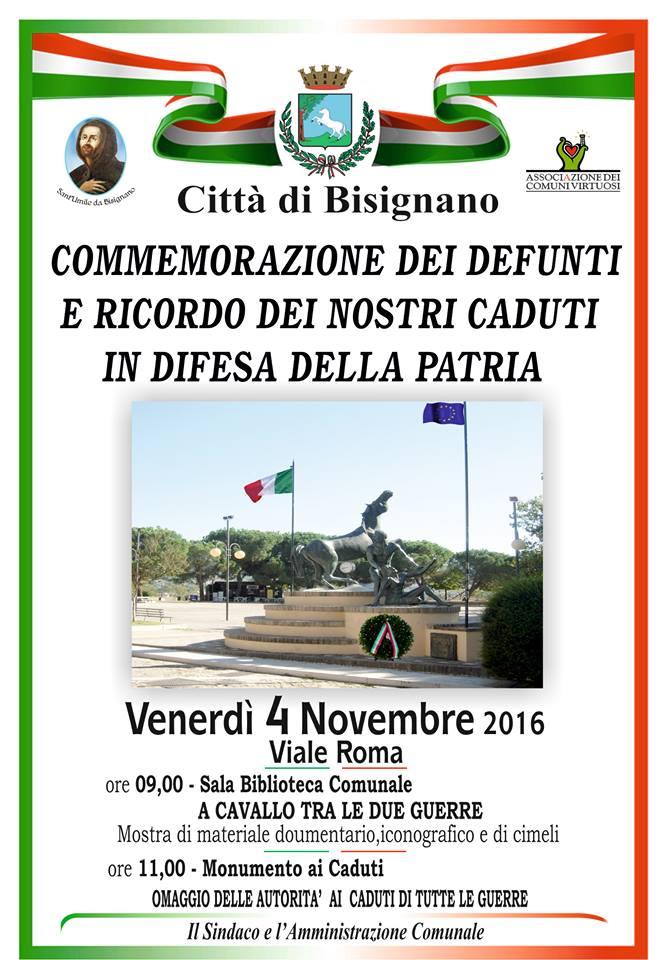 commemorazione-defunti-4novembre Commemorazione dei defunti e ricordo dei nostri caduti in difesa della Patria