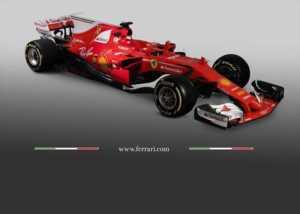Presentata la Ferrari del 2017