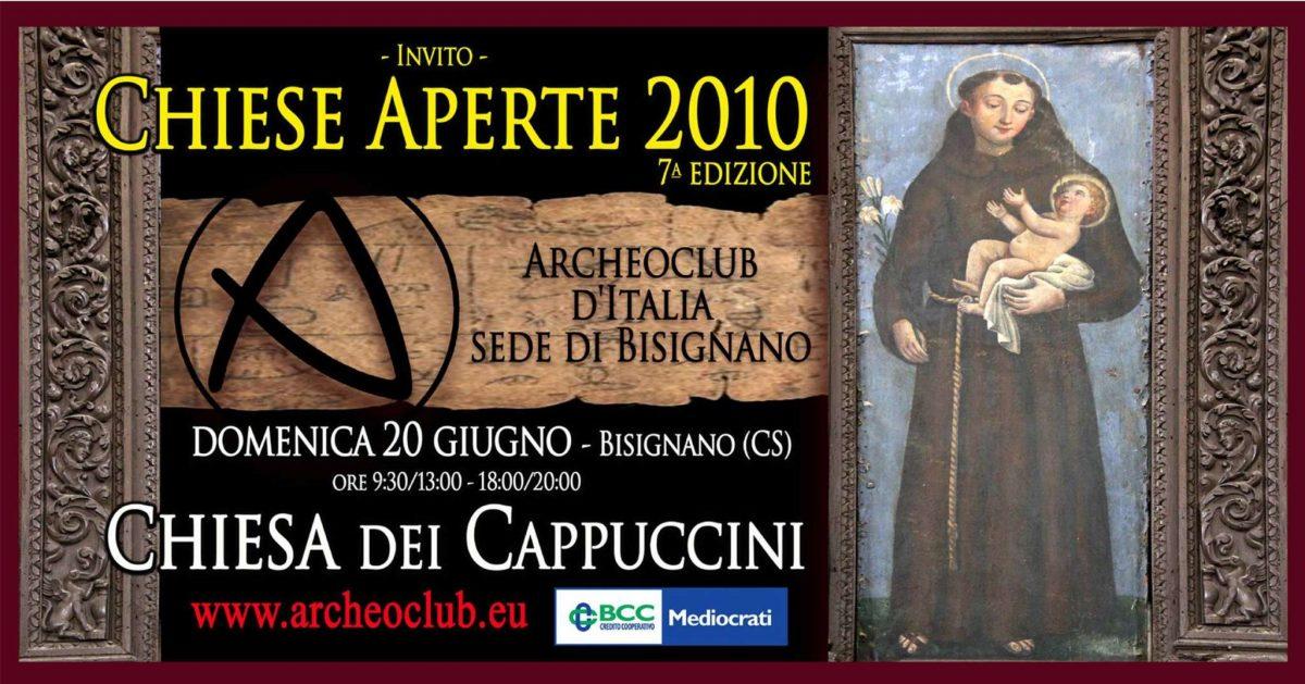 Invito-chiese-aperte-2010 Chiese aperte 2010 - 7a Edizione