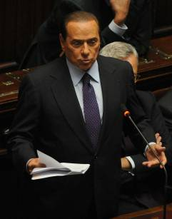 berlusconi_l Berlusconi: 21mld al Sud e la Salerno Reggio Calabria sarà completata nel 2013