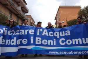 forum-acqua-300x200 Buon successo per il forum contro l'acqua privata, lo scorso primo Maggio al viale Roma