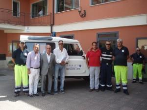 fuoristrada_comune_bisignano La Protezione civile regionale regala un fuoristrada al Comune di Bisignano