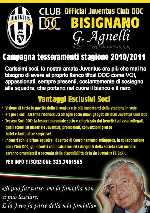 juve_ Official Juventus Club DOC Bisignano