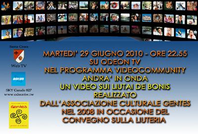 liuteriaodeon Liuteria De Bonis su Odeon TV