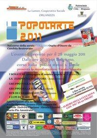 """popolarte Serata delle tradizioni popolari """"popolArte 2011"""""""