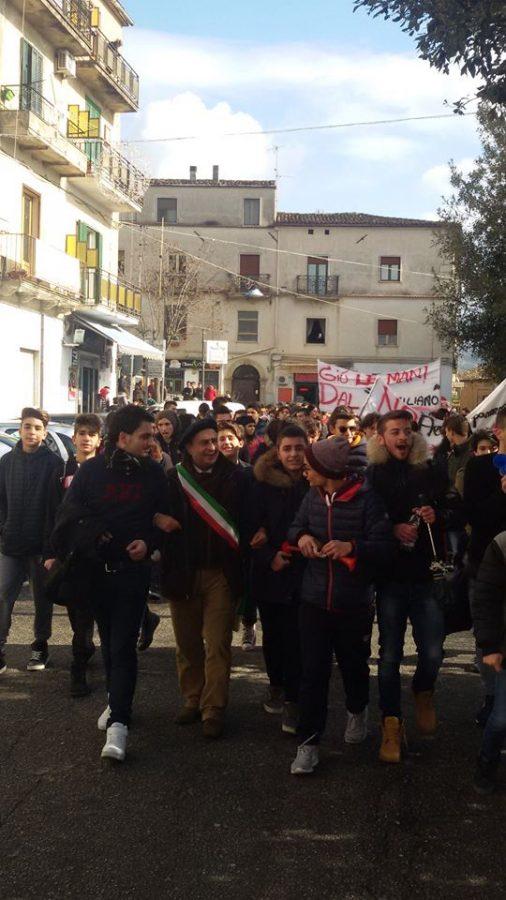 protesta-studenti-4 La protesta degli studenti, no alla perdita dell'autonomia