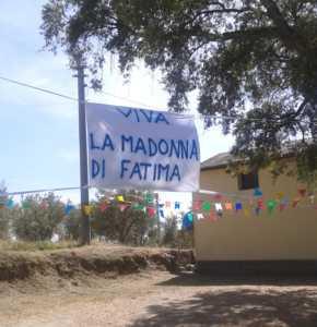 madonna-fatima-fravitta-striscione-290x300 A Fravitta si celebra il centenario di Fatima