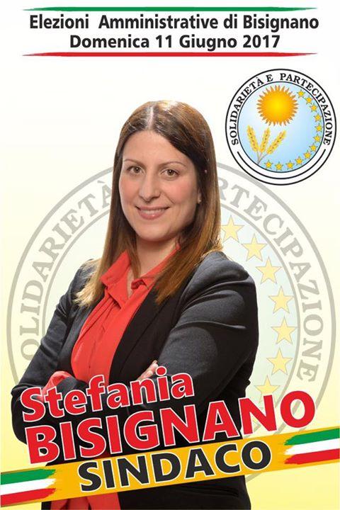 stefania-bisignano Apertura della campagna elettorale della lista Solidarietà e Partecipazione