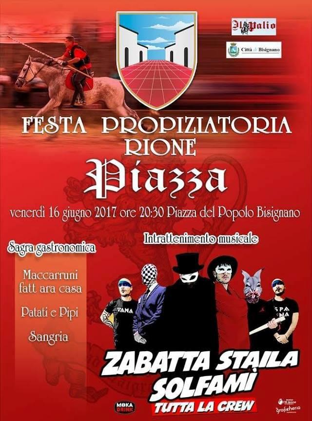 """festa-propiziatoria2017.piazz_ """"Zabatta Staila"""" alla festa del Rione Piazza"""