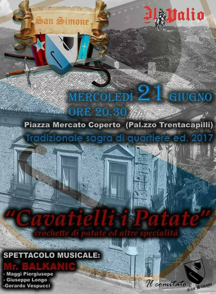 quartiere-san-simone-festa-cavatielli-2017 Cavatielli i Patate alla festa del quartiere San Simone