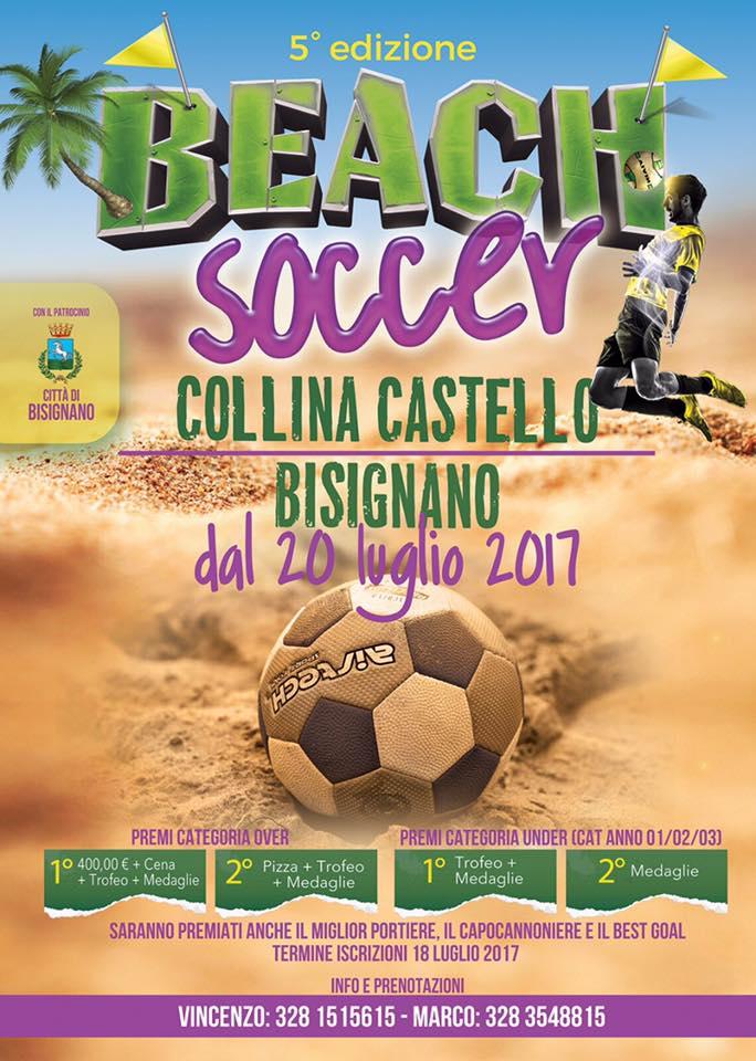 beach-soccer-bisignano-2017 5° torneo Beach Soccer a Bisignano dal 24 Luglio