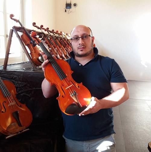 giuseppe_rago_liutaio_bisignano1 Presto a Bisignano i corsi sulla costruzione del violino