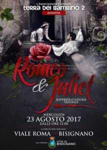 """romeo-giuletta-213x300 """"Romeo e Giulietta"""" stasera al viale Roma"""