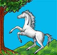 Chinea Bianca, cavallo rampante bisignano