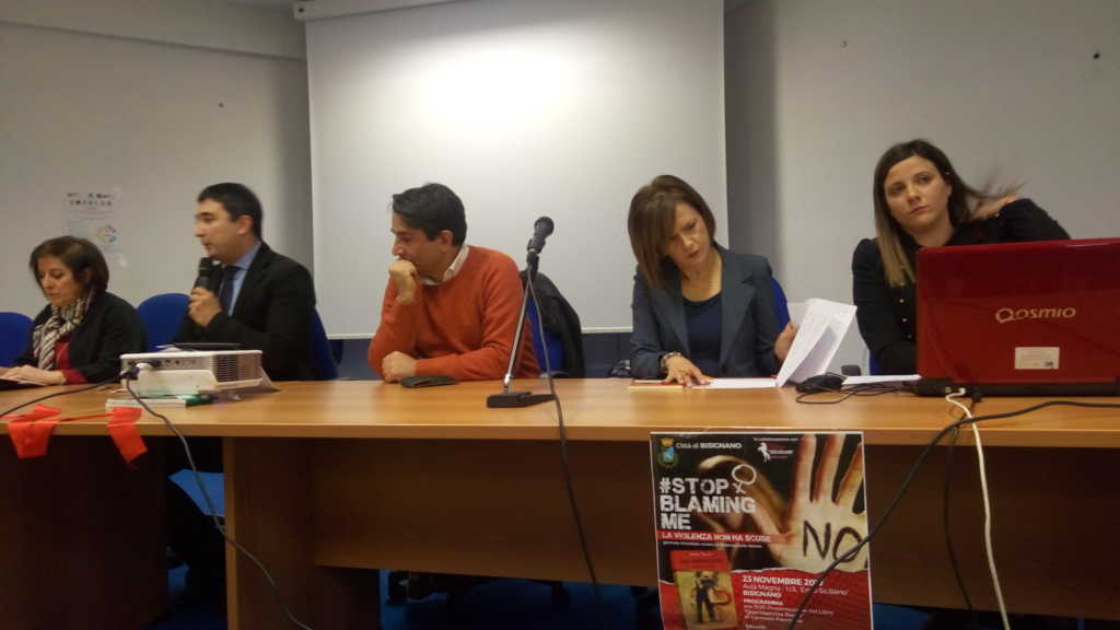 """P_20171123_095137-1024x576 Al Siciliano contro la violenza sulle donne, presentato """"Quel nastrino rosso"""""""