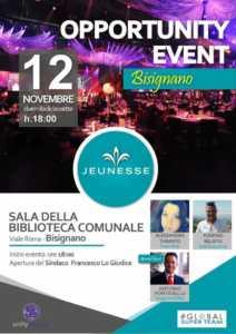 manifesto-bisgnano-212x300 Newtork marketing in primo piano al viale Roma domenica 12 novembre