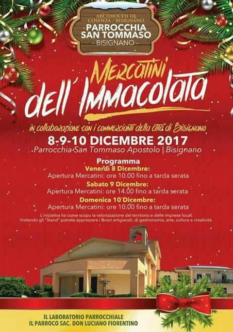 mercatini-immacolata-2017-santommaso I Mercatini dell'Immacolata a San Tommaso