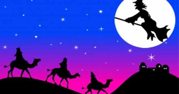 befana-vigilia-re-magi Questa notte gli animali parleranno e potranno maledire i loro padroni, a meno che...